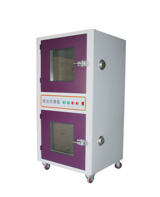 Customizable Battery Lab Equipment Over Charge and Discharge Tester Explosion Proof Protection Tank