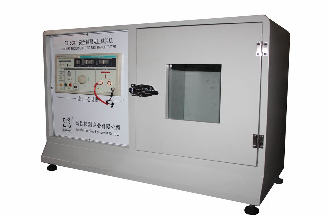 Industry Insulated Shoes High Voltage With Standing Resistance Testing Machine
