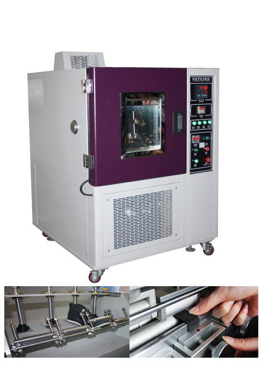 Low Temperature Freeze Test Chamber Shoe Bending Ross Flexing Resistance