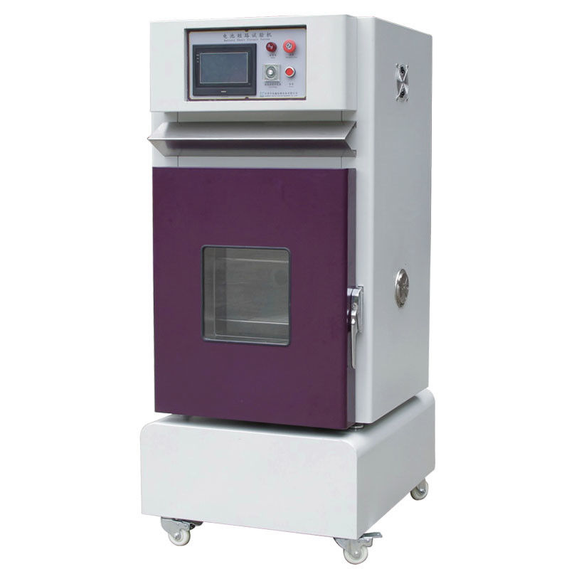 Battery External Short Circuit Testing Equipment With Temperature Current Voltage Recorder