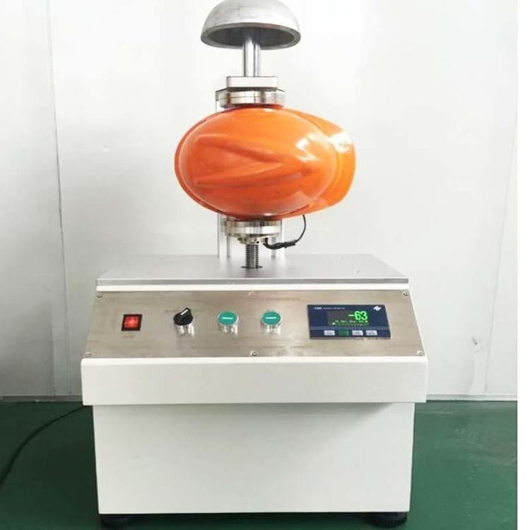 Safety Helmet Testing Machine Chin Strap Strength Lateral Stiffness Tester
