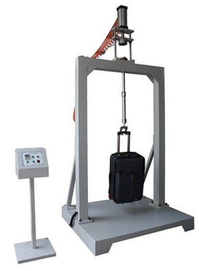Professional Luggage testing machine for oscillating impact , 220V / 50HZ