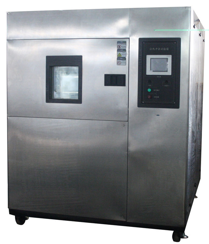Observation Window PLC Control Customised Three Zones High Low Temperature Rapid Heating Colding Impact Test Chamber