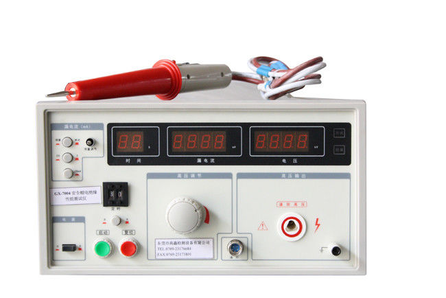 Portable Electrical insulation Helmet Testing Equipment / Instruments with LED display