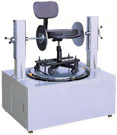 Swivel Cycling Durability Chair Testing Machine With Microcomputer Controlling