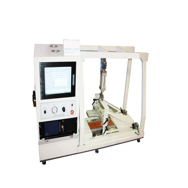 Rectangle Steel Footwear Testing Equipment To Test Shoe Outsole Slip Resistance Property